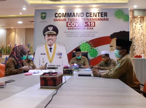 Semua Daerah Dipantau KPK, Pemkab Siak Sangat Hati-hati Salurkan Bantuan Covid-19 ke Masyarakat