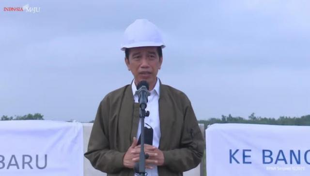 Jokowi Berharap Tol Pekanbaru-Bangkinang-Padang Dapat Permudah Mobilitas dan Tingkatkan Daya Saing