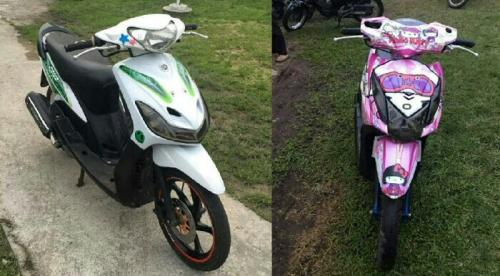 Hasil Pengembangan Kasus Curat di Banglas Selatpanjang, Polisi Amankan 2 Unit Sepeda Motor