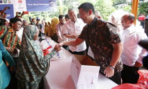 Menteri Perdagangan Apresiasi Pasar Murah Ramadan PT RAPP