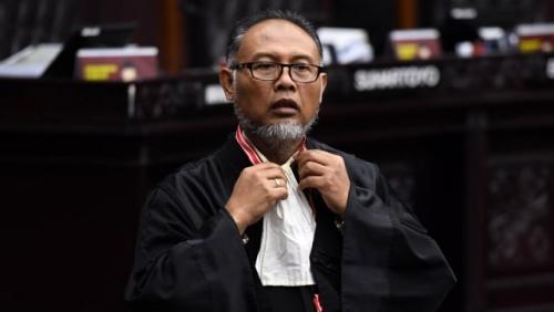 Hakim MK Ancam Usir BW Keluar Ruang Sidang karena Hal Ini