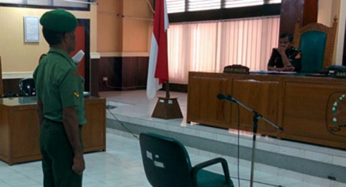 BEJAT... Anggota TNI Berpangkat Serda Ini Cabuli 2 Putri Kandungnya sampai 30 Kali di Hotel Ini