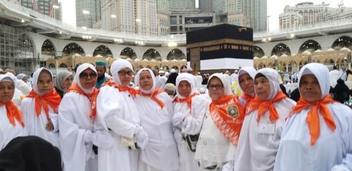 JCH Kepulauan Meranti Laksanakan Ibadah Umroh Wajib