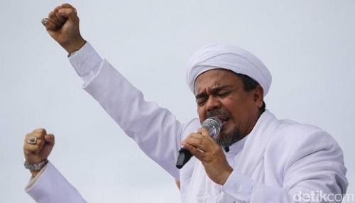Pidato dari Arab Saudi pada Milad FPI, Ini Imbauan Habib Rizieq Terkait Pilpres 2019