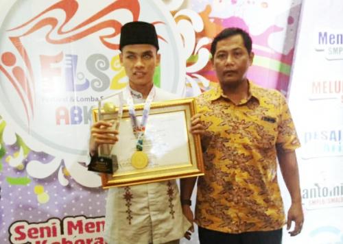 Siswa SMPLB Kepulauan Meranti Raih Juara 1 FLS2N di Lampung