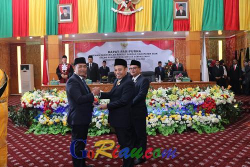 Raih Suara Terbanyak, Zulkifli Dipercaya Sebagai Ketua Sementara DPRD Kabupaten Siak