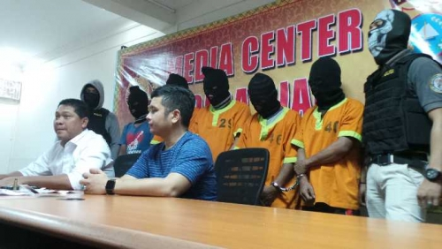 5 Orang Bandit Kejam Spesialis Tukang Tembak Digulung Polisi, 1 Oknum TNI Buron