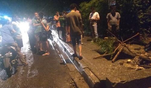 Ini Penampakan Lubang  Trotoar Maut di Bangkinang yang Renggut Nyawa Siti Aisyah