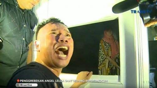 Pria Muda yang Berduaan dengan Angel Lelga dalam Kamar Ternyata Bintang Sinetron Raden Kian Santang