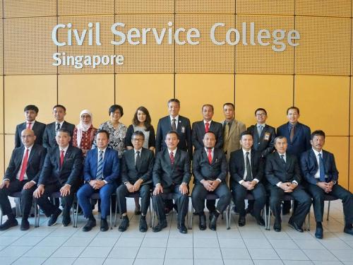 Diskusi Transformasi Promosi Investasi di Singapura, Gubri Syamsuar: Kita Berdiskusi Potensi Daerah