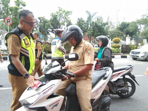 Siapkan Surat-surat, Bapenda Riau dan Ditlantas Razia Penertiban Pajak Hari Ini