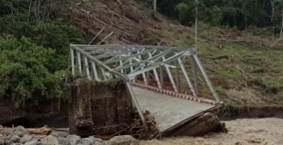 Jembatan Putus di Bengkulu Saat Warga Ramai Menyeberang, 4 Tewas dan 6 Hilang