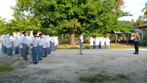 Polsek Tebingtinggi Barat Laksanakan Police Go To School
