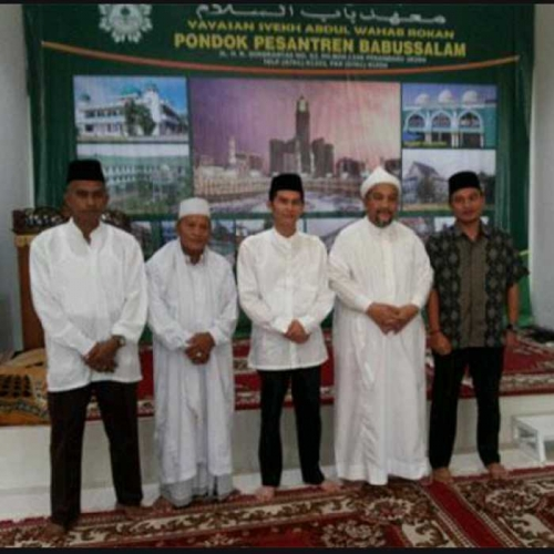 Mohon Doa Restu dan Tunjuk Ajar, Zulfan Silaturahmi ke Syekh Haji Ismail Royan