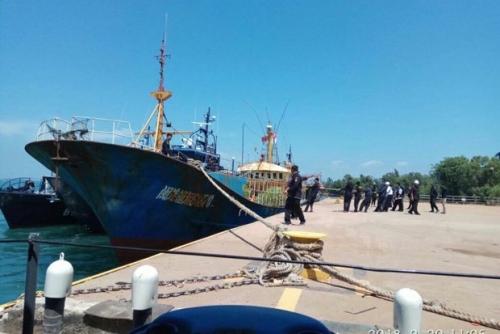 Bea Cukai Batam Tangkap Kapal Taiwan Bermuatan 1,6 Ton Sabu-sabu