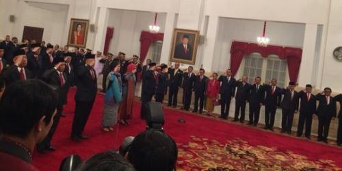 Jokowi Lantik 17 Dubes, Berikut Ini Daftar Nama dan Negaranya