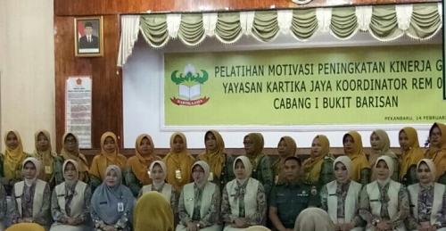 Ketua Yayasan Kartika Jaya Bukit Barisan: Guru Harus Mampu Ciptakan Suasana Belajar-Mengajar Menyenangkan