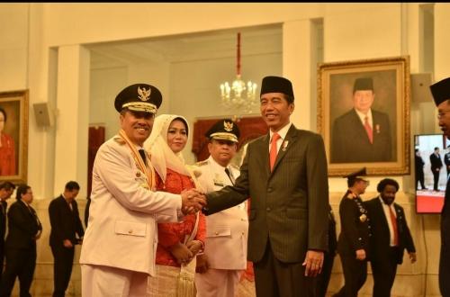 Bupati Bengkalis Ucapkan Selamat Atas Dilantiknya Gubernur Riau dan Wakil Gubernur Riau