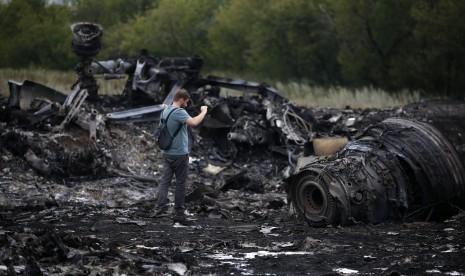 Difitnah Rusia Tembak Malaysian Airlines MH17, Pilot Militer Ukraina Bunuh Diri