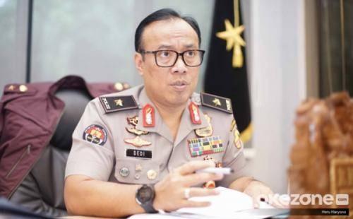Video Polisi Ajak Warga Teriak Jokowi Yes Yes Yes Viral, Polri Akan Cek Akun Penyebar