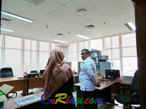 Wagubri Edy Nasution Sidak Gedung Gubernur Riau Lantai 9, Ini yang Ditemukan