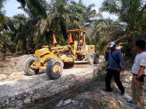 Desa Kebun Lado Akhirnya Miliki Jalan Utama