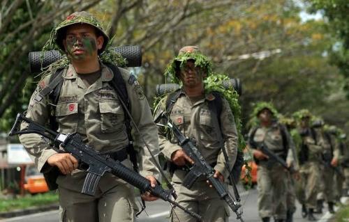 Ditembak Kelompok Bersenjata, 1 Anggota Brimob Tewas dan 2 Terluka