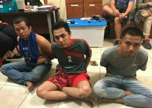 Polisi Masih Kejar Empat Tahanan Kejaksaan yang Kabur di Pengadilan Negeri Pelalawan