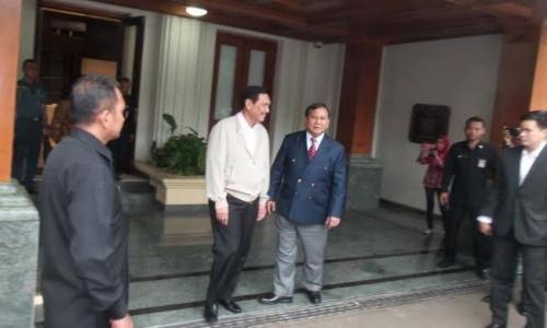 Luhut Panjaitan Akan Temui Prabowo Besok, Bicarakan Apa Ya?