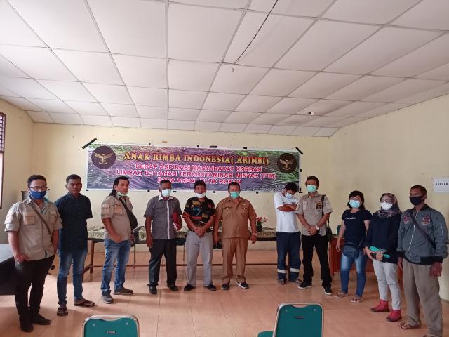 Perjuangkan Kelestarian Lingkungan, ARIMBI Riau Tampung Keluhan Warga Korban Limbah B3 TTM