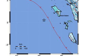 Gempa Magnitudo 6,4 di Nias, Getarannya Terasa di Sidimpuan dan Padang