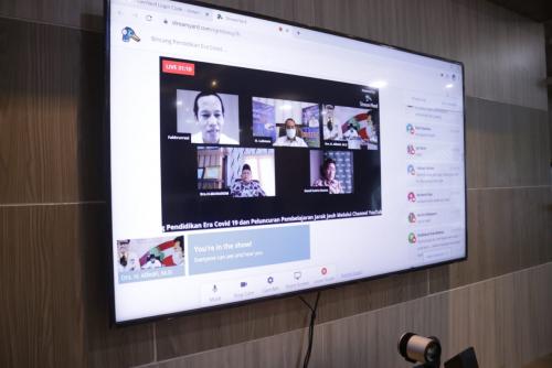 Terapkan Konsep Belajar Live Streaming, Disdik Luncurkan Channel YouTube Siak Bedelau