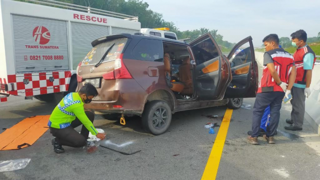 Ini Kronologis dan Identitas Korban Kecelakaan Maut di Tol Pekanbaru-Dumai