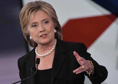 Di Tengah Sibuk-sibuknya Berkampanye, Calon Presiden AS Hillary Clinton Dapat Ini, Dia Pun Semakin Yakin Mengalahkan Si Pembenci Islam