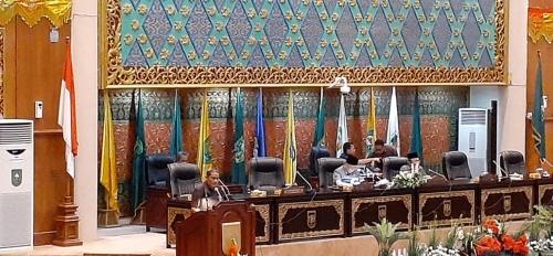 Gelar Rapat Paripurna, DPRD Riau Bentuk Pansus Raperda Izin Usaha Perikanan Budidaya