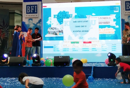BFI Finance Indonesia Bagi-bagi 4 Unit Mitsubishi Xpander, Ini Nama Konsumen yang Beruntung