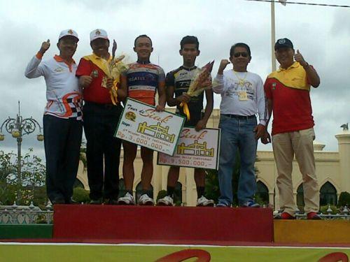 Etape III Tour de Siak, Pebalap Indonesia Raih Posisi Tiga