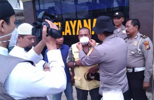 Ashil Tv Bagikan Ribuan Masker