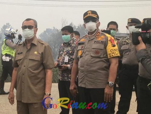 Setiap Kecamatan Miliki Ekskavator, Agar Tidak Ada yang Membuka Lahan dengan Dibakar di Riau