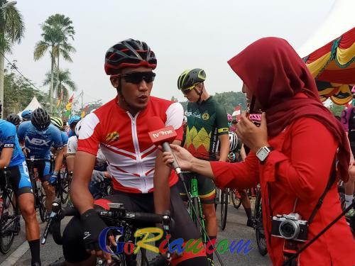 Selamat Juangga Antarkan KFC Cycling Team Menjadi Tim Indonesia Terbaik di Etape Pertama Tour de Siak 2019