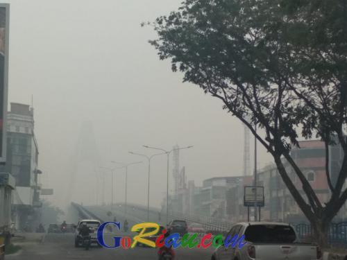 151 Titik Panas Terdeteksi di Riau