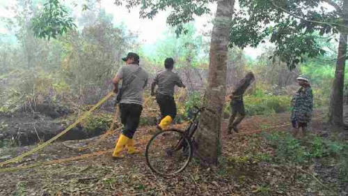 Ini Identitas Dua Orang yang Kebunnya Terbakar di Tanjungpisang