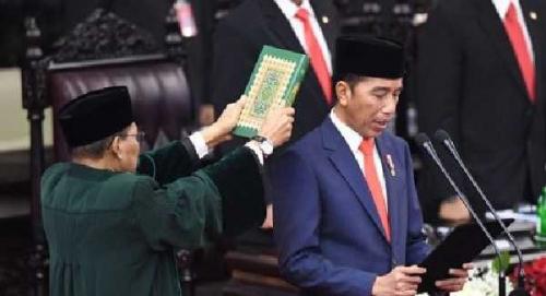 Ucapkan Selamat dan Tahniah Pelantikan Jokowi-Maruf, Bupati Bengkalis: Semua Harus Kembali Bergandeng Tangan