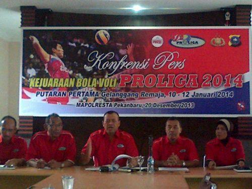 14 Klub Terbaik Tanah Air Dipastikan Ambil Bagian pada Proliga 2014 di Pekanbaru
