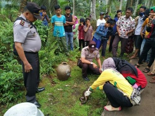 Sulit Dapatkan Keterangan dari Warga, Polisi Belum Berhasil Temukan Pelaku Pembuang Bayi di Inhil