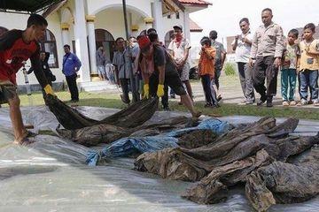 Kuburan Massal Korban Tsunami Aceh Ditemukan Tanpa Sengaja