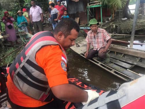 Anak yang Hilang di Sungai Siak Pekanbaru Ditemukan Sejauh 3 Kilometer dari Lokasi Tenggelam