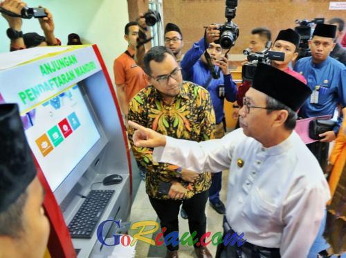 Daftar Berobat di RSUD Arifin Achmad Pekanbaru Kini Tak Lagi Berjam-jam