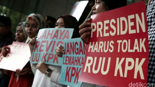 Tolak Revisi UU KPK, 23 Guru Besar Surati Jokowi, Begini Isinya