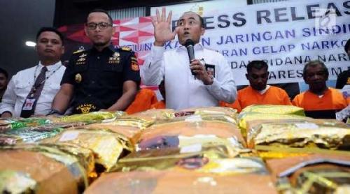 Ini Kronologi Pengungkapan 1,8 Ton Sabu yang Masuk dari Kepri ke Indonesia